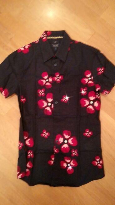 Kişi Geyimləri - Azərbaycan: Бредовая новая Мужская сорочка Armani, размер S, бесплатная доставка