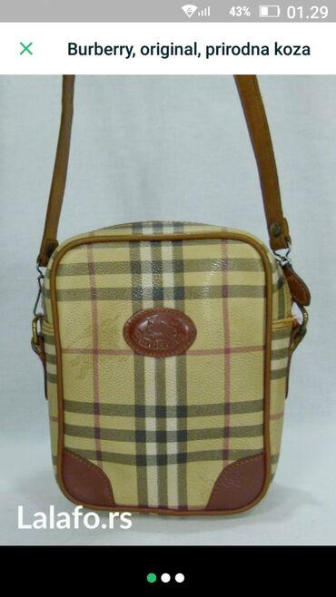 Burberry, original unisex torbica, sa manjim ogrebotinama kod