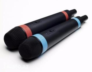 Bakı şəhərində Sony playstation 3 üçün mikrofon singstar
