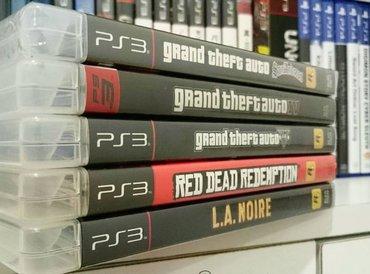 Bakı şəhərində Playstation 3 oyunları təzə upokovkada orjinal