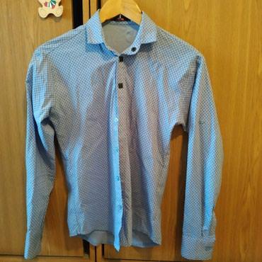 Рубашка мужская , размер s , можно для школы в Бишкек