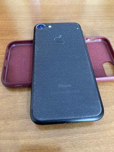 ноутбук айфон в Кыргызстан: Б/У iPhone 7 32 ГБ Черный