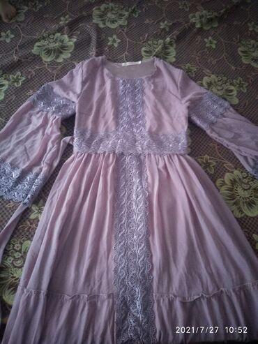 Детский мир - Ивановка: Продаю платья надевали пару раз. Второй арбузного цвета