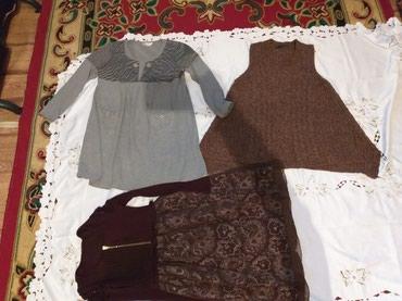 Платья для беременных женщин.все почти новые. 8 месяцев носила. в Бишкек
