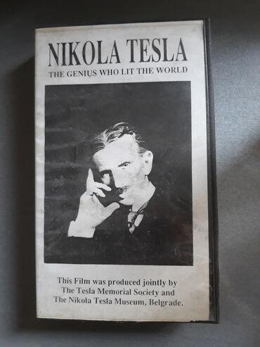 Sport i hobi - Zrenjanin: VHS kaseta Nikola TeslaNikola Tesla – The Genius who lit the worldThis