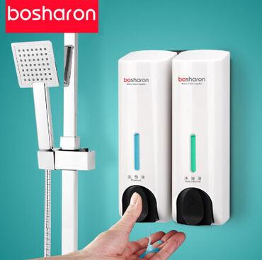 диспенсер для мыла медицинский в Кыргызстан: Диспенсер для жидкого мыла шампунь моющее средство настенный контейнер