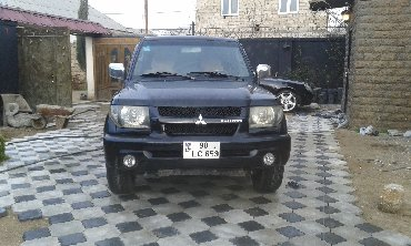 Mitsubishi Bakıda: Mitsubishi Pajero Sport 1.8 l. 2000   290000 km