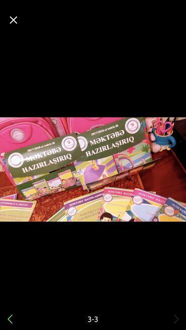 Rus ve Azerbaycan dili üçün mektebe hazırliq kitabları satılır