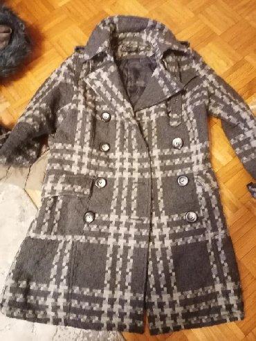 Kaput vuna - Srbija: Kaput prolecni prelep. Xl. Vel. Vuna akril. Malo nosen. Odlican