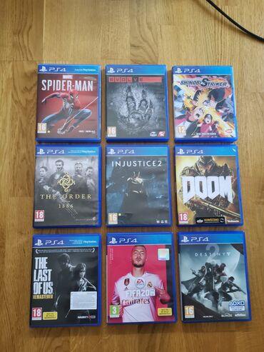 PS4 igrice u odlicnom stanju!