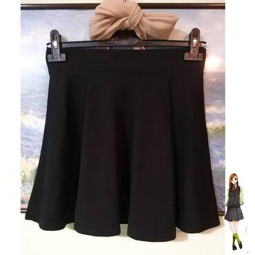 Clockhouse suknja kao nova. S vel. U struku ima široku gumu. 95% pamuk