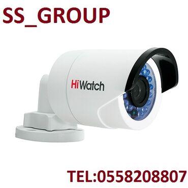 """IT, internet, telekom - Azərbaycan: Təhlükəsizlik kamerası """"HiWatch DS-T110""""2il ZəmanətSensor- 1/4 CMOS"""