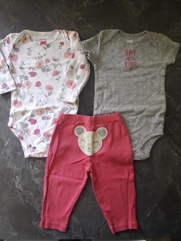 carters набор в Кыргызстан: Набор тройка от Carter's (оригинал) на девочку 6 месяцев. Боди с