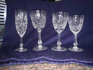Σερβίτσιο Cristal de Sèvres ΓαλλίαςΠοτήρια κρασιού λευκού