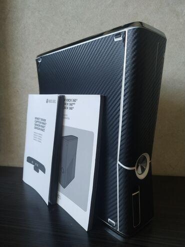 фотоаппарат 360 в Кыргызстан: XBOX 360+Kinect •Приставка и кинект в цвете -карбон•более 40 игр (ГТА