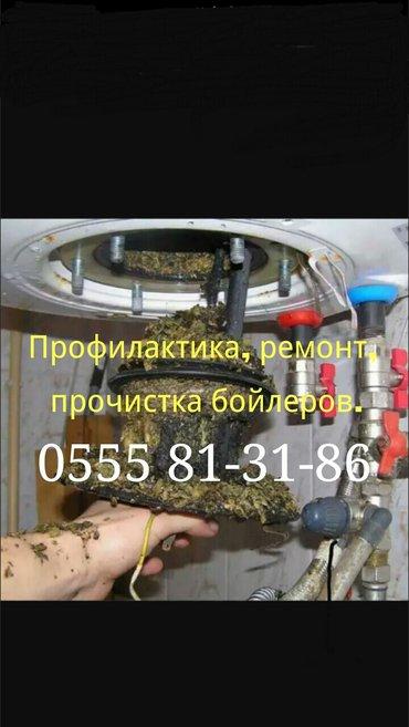 Сантехник. Ремонт, профилактика, чистка бойлеров. в Бишкек