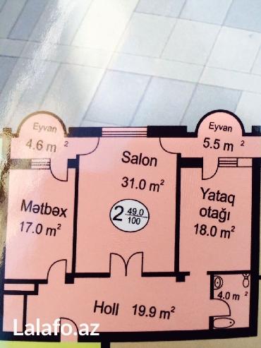 Bakı şəhərində Oxford mekteble uzbe uz 17 /4. 100 kvm  heyetinde bagcasi supermarketi