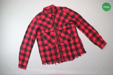 Жіноча сорочка у клітинку Reserved, р. XS   Довжина: 60 см Ширина плеч