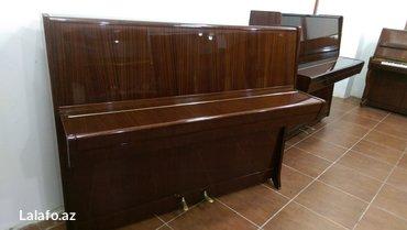 Bakı şəhərində Petrof piano - orijinal rengde, restavrasiya olunmayıb. 5 il