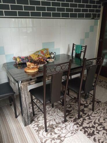продам кухонный стол in Кыргызстан | СТОЛЫ: Продаю срочно кухонный стол состояние отличное