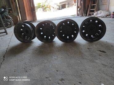 chajnyj serviz na 15 predmetov в Кыргызстан: Штамповка с калпаками 4 штук. Диаметр 15 разболтовка 112. От мерс 124