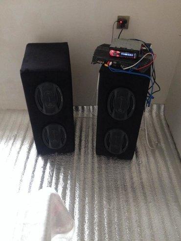 Səsgucləndirici pioneer maqintola sony 600 wat