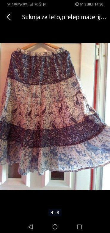 Suknja za proljetna dane
