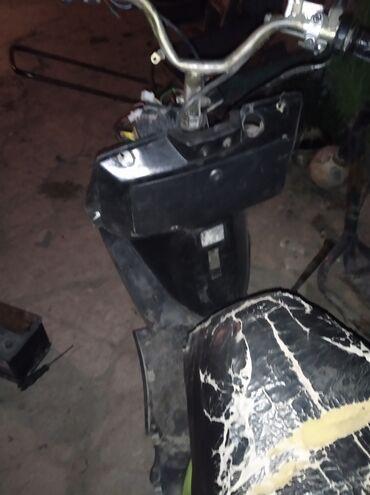Транспорт - Новопокровка: Скутер 150 кубеков едит зоводится даже бенза есть !только света нету