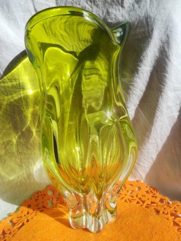 Ваза чешское стекло цена 1200сом в Бишкек