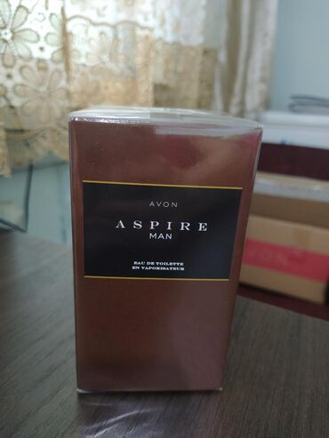 """avon aspire man в Кыргызстан: В наличии туалетная вода для него """" Aspire Man"""" 75 мл"""