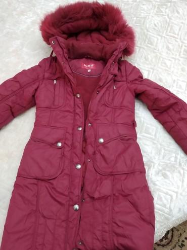 детская куртка в Кыргызстан: Теплый зимнийв хорошем состояниидетский на 9 _10 лет
