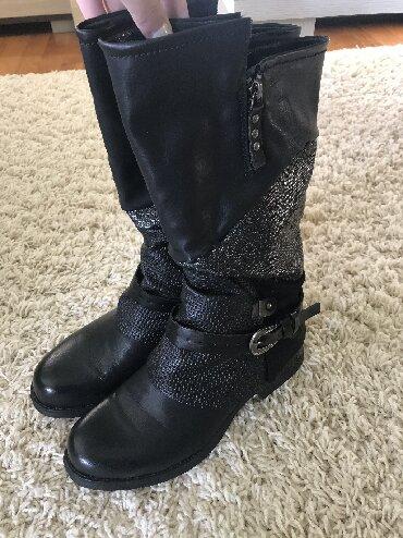 Čizme nove lepo stoje broj 40 cena 3500 din
