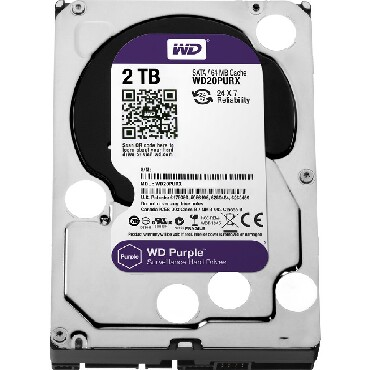 - Azərbaycan: WD Purple HDD 3.5, 2TBMarka: WD Model: Purple HDD 3.5, 2TBNöv: Daxili