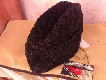 Мужская шапка из натурального в Бишкек
