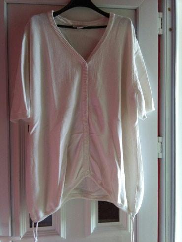 Tunika za krupnije dame bela kao sneg 52 broj,extra kroj,vidi slike - Sombor