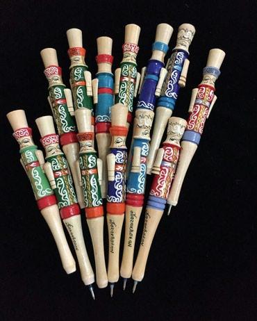 Ручки в национальном стиле из дерева ручная работа  в Бишкек
