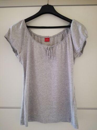 Majica pamucna xl - Srbija: Esprit siva pamucna majica odgovara za l/xl
