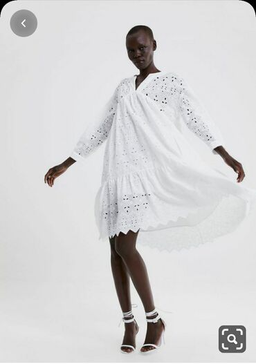Zara haljina M, 100% pamuk, nosena 2x, placena 6.590din