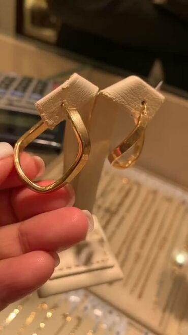 Золотые серьги   Новый! Золото 750 пробы. 3.20гр Куплено в Дубае