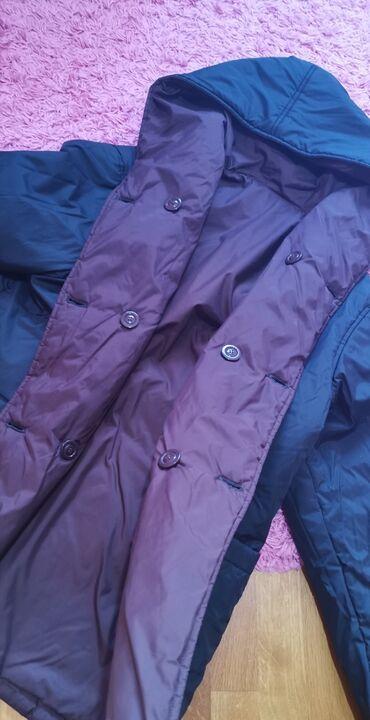 Nju jorkeru - Srbija: Nova jakna sa dva lica braon boja i crna xl velicina bez mane cena 300