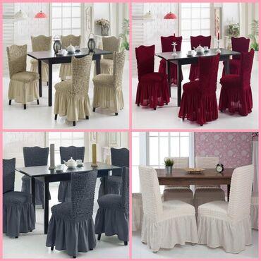Navlake za stolice sa karnerima,set 6 komada  Cena 2490 din