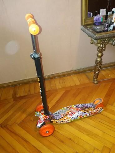 scooter samokatlar - Azərbaycan: Az iwlenmiw yaxwi veziyetde scooter satilir 3 yawda 60 kgya kimi
