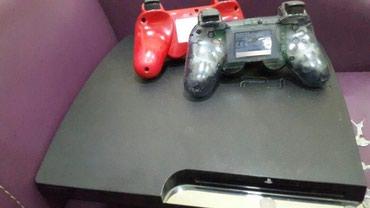 Bakı şəhərində Playsation3 iki orjinal pult yadawinda en son iiqralar var