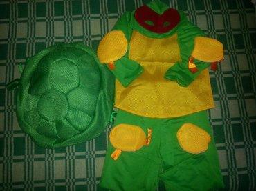 Продаю костюм черепашки-ниндзя на мальчика 3-4года! одет один раз! сос в Сокулук