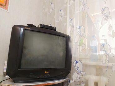 телевизор lg чёрный в Кыргызстан: ПРОДАЮ ТЕЛЕВИЗОР! В комплекте имеется РЕСИВЕР+ПУЛЬТ ОТ РЕСИВЕРА+ПУЛЬТ