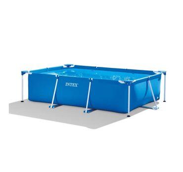 Модель из серии каркасных бассейнов прямоугольной формы. Как и все