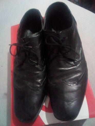 Muske cipele 41 - Srbija: Muske cipele.Br.41-42.Kozne.Ocuvane. vredi.Moguca korekcija cene