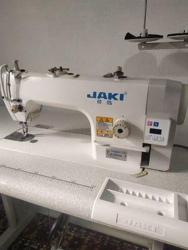 электро швейная машинка в Кыргызстан: Швейная машинки примая строчкаФирма:JAKI качественная фирма Состояние