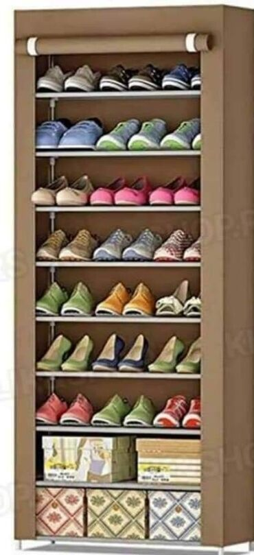 Platneni cipelarnik sa 9 policaAKCIJSKA CENA: 2. 400 dinara✔ Pogodan
