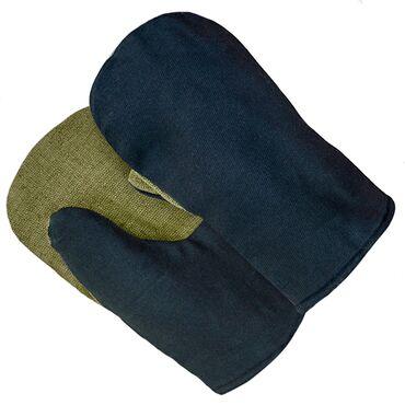 Рукавицы утепленные с брезентовым наладонникомУдобные и практичные